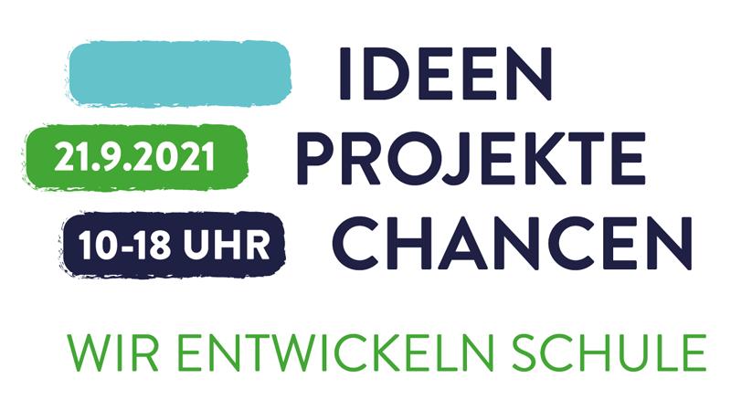 Event-Logo: Ideen-Projekte-Chancen: Wir entwickeln Schule